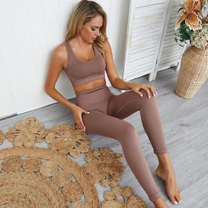 nahtlos Hyper Training Set Sport Leggings und Top Set Yoga-Outfits für Frauen Sportbekleidung sportlich Kleidung Gymnastik-Sets Stück