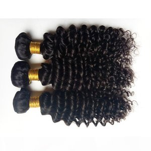 Unprocessed Brazilian virgin human hair soft beauty Deep Wave hair extensions for African American black woman hair 3 4 5pcs lot DHgate