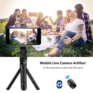 3 In 1 Wireless Bluetooth Selfie Stick Extendable Handheld Monopod Mini Tripod With Remote Control For 3.5 6'' Phone Ios Android jllxHc