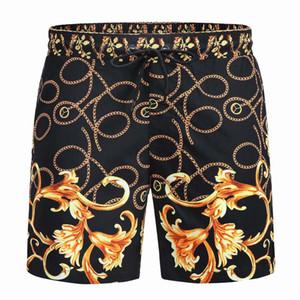 Мужчины спящие днища пляжные шорты брюки свободные равнинные шелковые брюки летний дом тонкий разрез шелкового пижама 2021