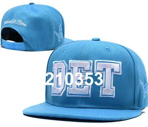 2020 Detroit hat Team Fans's Snapback Hat Brand Popular Hip Hop Adjustable Cap Flat Bill With Special Printed Visor a13