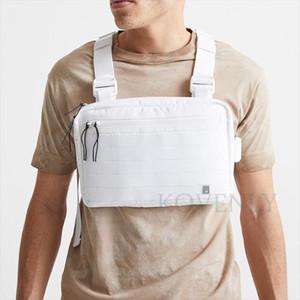 New Streetwear Chest Bag For Men Hip Hop Vest Chest Rig Bags Fashion Tactical Strap Bag Male Square Vest Pack Kanye