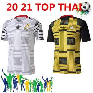20/21 Ghana Thomas Soccer Jerseys 2020 Home Schlupp Kudus J.Ayew Caleb Ekuban Samuel Owusu Camicia da calcio Soccer Uniformi di squadra nazionale