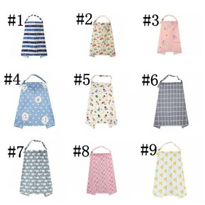 Lactation Towel Feeding Towels Lactating Out Shawl Blanket Cotton Hood Keep Out Suspender FIG Leaf Prevent Exposure Towel Blankets GWE8838