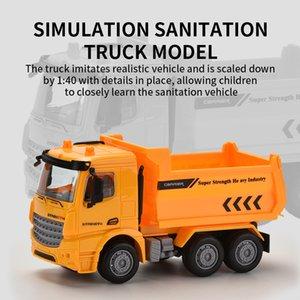 1:40 ABS пластика трение модель автомобиля игрушка для малышей шесть-привод весело игрушечных oparation городского транспорта грузовика