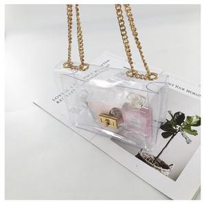 Сумка HBP Bags Crossbody All-Match Jelly прозрачный ПВХ маленький квадратный мешок 2020 моды Новое поступление популярное тенденция лучше всего продавать хороший стиль