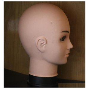 Male Mannequin Head Hat Display Wig Training Head Model qylMMc sweet07