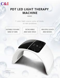 6 цветов Маска Свет LED лица PDT Therapy светодиодные Уход за кожей Омоложение машина удаления прыщей Anti-Wrinkle Spa салон красоты оборудование