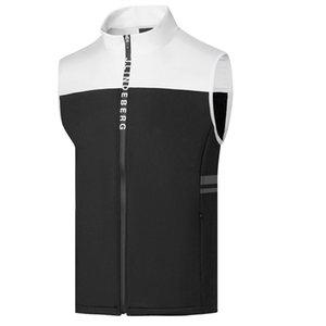 Printemps Automne Nouveau Hommes JL Golf Gilet plus mince Gilet en molleton de sport Vêtements de golf S-XXL Sporin Choix Loisirs Golf Vest Livraison gratuite