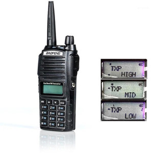 Walkie Talkie BAOFENG 82 Dual Band Two Way Radio Double PStandby HAM BIG Power TX Transceiver Wireless Communication1
