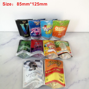 New JOKE'S UP Runtz Marathon OG Ether mylar Peanut Butter Breath 85mm*125mm Runtz Bags 420 Dry Herb Flowers Packaging