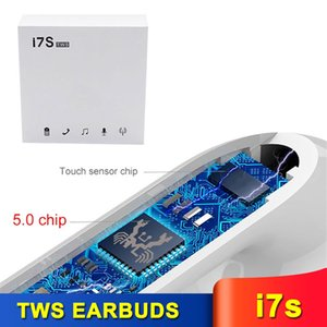 i7s TWS Wireless Headsets Bluetooth 5.0 Mini in-ear Earphones Earbuds With Charging Box Microphone for Cell Phones