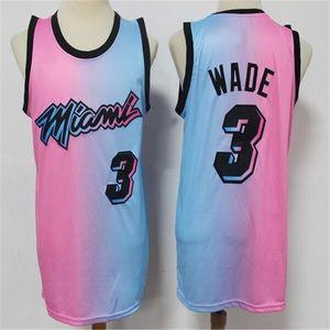 Homens Jerseys Tyler 14 Herro Dwayne 3 Wade Jimmy 22 Butler Dwyane Goran 7 Dragic Bam 13 Adebayo Duncan 55 Robinson Basketball