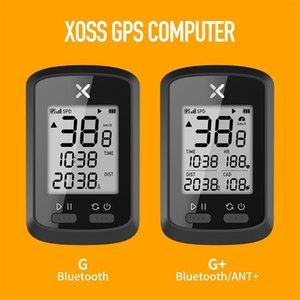 XOSS GPS Bisiklet Bilgisayar Kablosuz Bisiklet Kilometre Yol Bisikleti MTB Su Geçirmez Bluetooth Karınca + Bisiklet Bilgisayar G + G Plus Computer 201120
