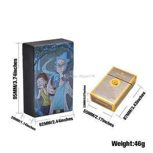 Plastic Creative Funny Smoking box Cigarette Case protable cigarette holder
