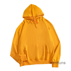 sweater Solid color hooded Pullover couple's