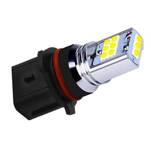 Emergency Lights 2Pcs P13W Super Bright 1800LM Cree Chip LED Car Daytime Running Light Anti Fog Lamp Yellow White Auto Front DRL Driving Bul