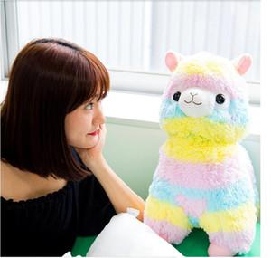 20 cm arco-íris bonito alpacasso kawaii alpaca lhama arpakasso macio brinquedo de pelúcia boneca pelúcia animais menino menina presente de aniversário