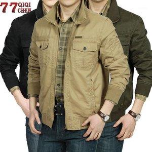 Qiqichen Automne Jacket Hommes Big Taille 3XL Jaquetta Masculina Bombardiers Vestes Bande Veste Veste Homme Casual Vestes Coats1