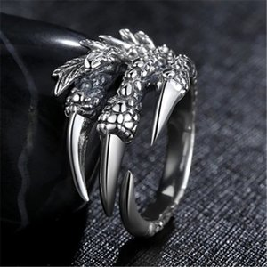 Wholesale 14 Styles Of Punk Skull Rings, Night Club Parties And Halloween Gifts For Men's Rings And Women's Rings 04