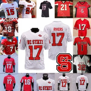 Özel NC State North Carolina Wolfpack Futbol Jersey NCAA Kolej Taberî Hines Cary Angeline Louis Acceus McNeill Hokmah Brissett Chubb
