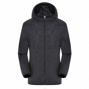 KANCOOLD 2019 Nuova Primavera Estate modo del Mens Outerwear Windbreaker Men S sottile giacche con cappuccio casuale Sporting cappotto Big Size GEjx #