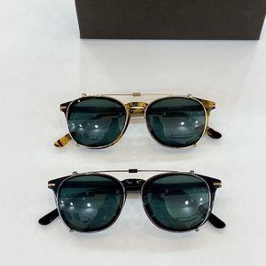 2020 Occhiali da sole in clip-on unisex di alta qualità UV400 importato Plank FullRim 49-22-145 per occhiali da prescrizione Fullset Box