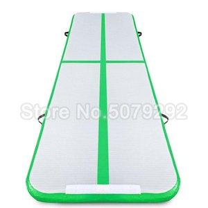 New green air inflatable Runway   indoor air floor 3*