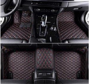 Para BMW X5 E70 E53 G05 F15 2004-2019 Car Tapetes WaterprLuxury personalizado impermeable antideslizante alfombras alfombra del piso para no tóxico y sin olor