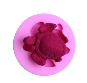 Diy Sea Turtle 3d Sile Fondant Mold Cake Decoration Tool Chocolate Pudding Cake Mold Baking Tools wmtOON dh_garden