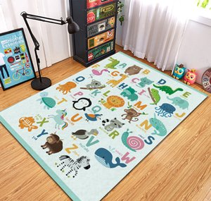 Children play games round carpet cotton carpet climbing carpet children's room decoration baby gift