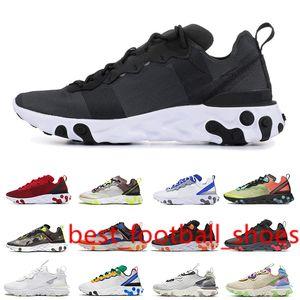 Fashion Black White React vision Chaussures type N354 Gore-Tex element 55 87 Running Shoes Saffron Hyper Pink women wholesale sports shoes
