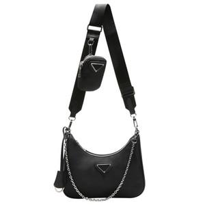 Sac à bandoulière pour les femmes sac poitrine dame fourre-tout sacs à main chaînes sac messenger bourse presbytes luxurys de designers de sacs en nylon