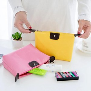 New Nylon Outdoor Travel Wash Bag Promotional Women Cosmetic Bags Multi-function Makeup Storage Organizer Ladies Handbag