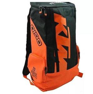 Ktm mochila andar de moto equipamentos mochila moda motocicleta ao ar livre mochila moto cross-country andar correndo saco de alta