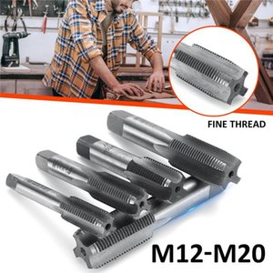 2X M12 M14 M16 M18 M20 1.5mm Pitch HSS Right Hand Straight Fine Thread Tap Metric Plug Hand Tap Tools For Mold Machining1