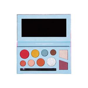 Maquillaje de ojos caliente de la mascarada sombra de ojos paleta de sombra de ojos paleta de color de colorete 10
