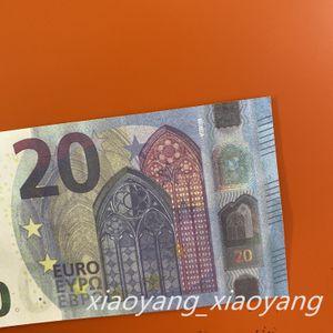 Hot Sales Fake Money 20 EURO Movies Pop Copy Bank Not Note Contado Prop Money Festive Fiesta Juegos Juguetes Colecciones Regalos