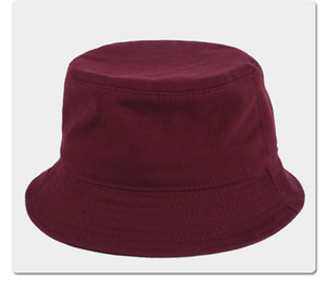 Mit Etikett Design Brief Bucket Hüte Unisex Faltbare Kappe Fischer Jagd Fischer Patchwork Sonnenvisier Verkauf Faltender Mann Frauen Bowler Hut