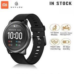 Original XiaoMi Youpin Haylou Solar Smart Watch LS05 Sport Metal Heart Rate Sleep Monitor IP68 Waterproof iOS Android Global Version FY8140