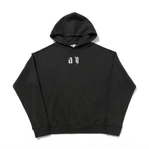 Ylm1 rivestite Stilisti casual magliette felpate Zipper 2020 Soprabiti Uomini uomo con cappuccio Collare Giacche Camouflage all'aperto cappotto Aut