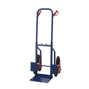 Hand Truck 440 lbs Heavy Duty Stair Climbing Moving Dolly Hand Truck Warehouse Appliance Cart Blue