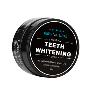 Natural Teeth Whitening Powder Smoke Coffee Tea Stain Remover Oral Hygiene Dental Care Bamboo Activated Charcoal FDA MSDS