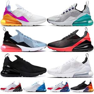 Nike Air Max 270 Grand Taille Eur 47 48 49 Air Cushion Chaussures De Course Blanc Noir Gradient SE Floral Soyez Vrai Hommes Baskets De Sport Femmes Formateurs US 12 13 14 15