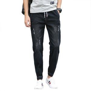 Los pantalones vaqueros 2019 delgado del verano Armarios moda masculina clásica Denim Pantalón diseñador ocasional flaco Favocent hombres derecho elásticas