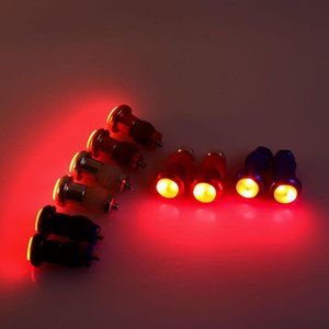 Bicycle Taillights Turn Signal Light Cycling Equipment Warning Taillight Bike Lamp Aluminum Alloy 5 Color Handlebar Light LED