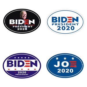2020 Joe Biden President Stickers America Candidate Car Ellipse Sticker US flag Multi Color Wall Tiles Fridge Magnets Popular 2 5qf G2