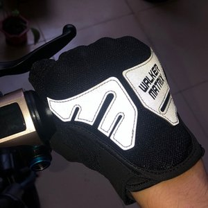 Free Shipping Outdoor Sports Full Finger Knight Riding Motorbike Motorcycle Gloves 600D Oxford Cloth Mesh Fabric Men Locomotive Glove