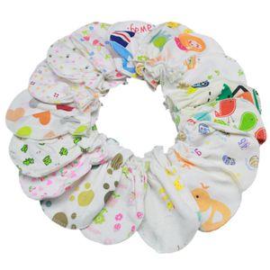 2020 infant anti-grasping gloves cartoon Warm winter gloves kids newborn Animal print Mittens C194