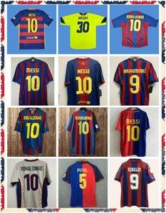 82 83 08 09 10 11 12 13 14 15 17 Ronaldo Retro Soccer Jerseys Guardiola 축구 셔츠 1996 1997 Stoickov Jersey 클래식 Maillot 드 발